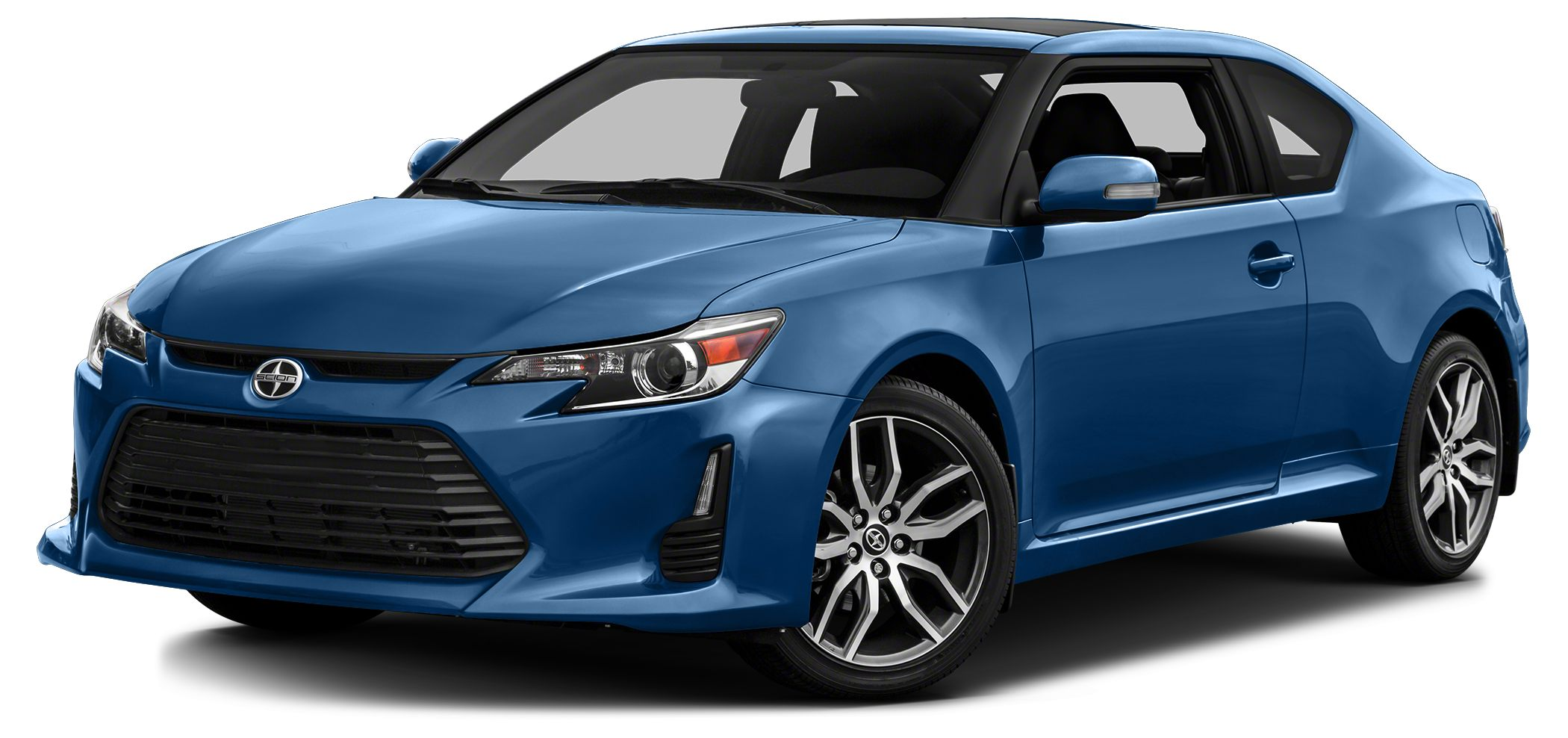 2014 Scion tC Base CARFAX 1-Owner GREAT MILES 31163 BLUE STREAK METALLIC exterior and DARK CHAR