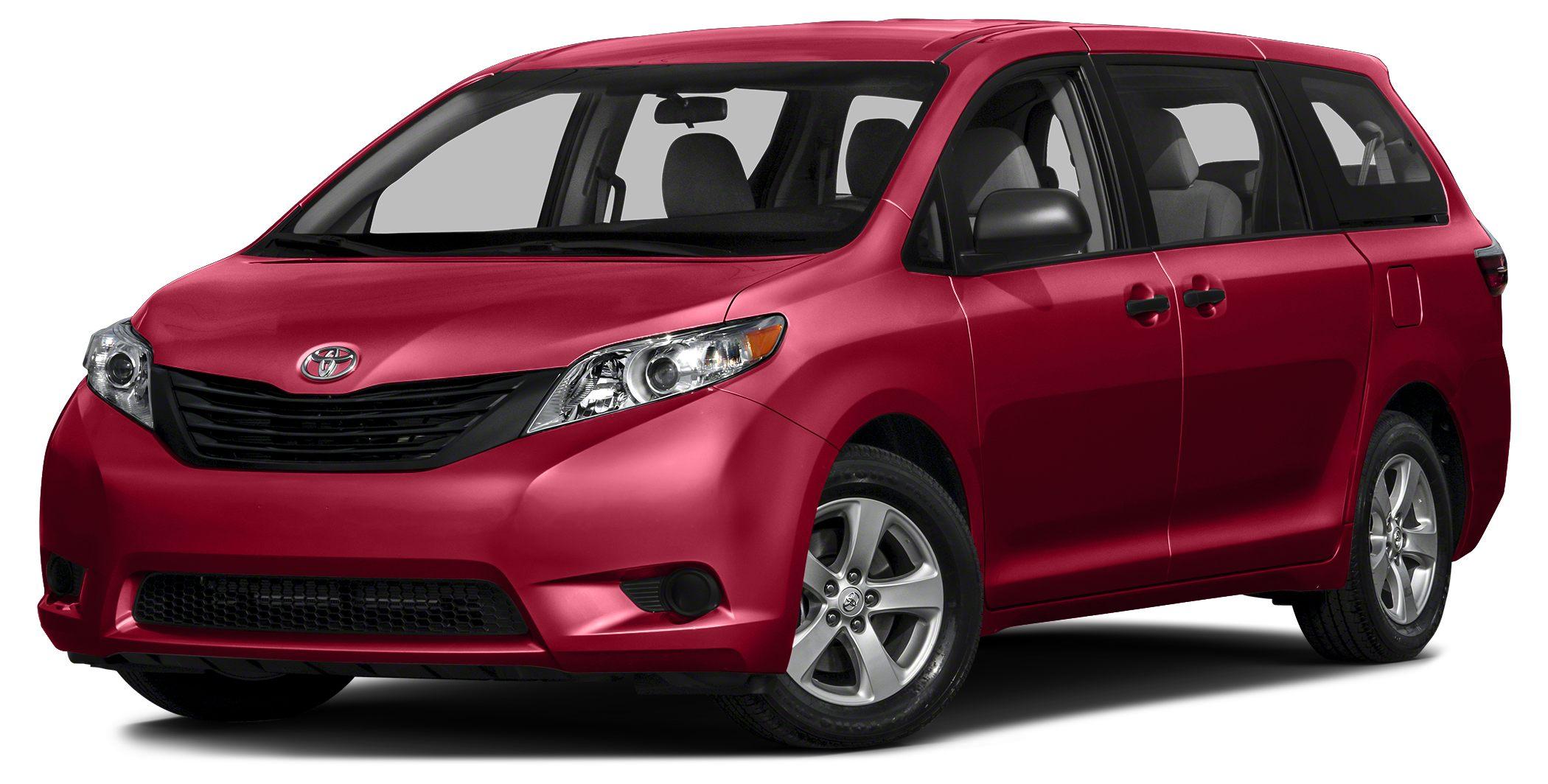 2015 Toyota Sienna Limited Premium 7 Passenger Heated Leather Seats Navigation DVD Entertainment