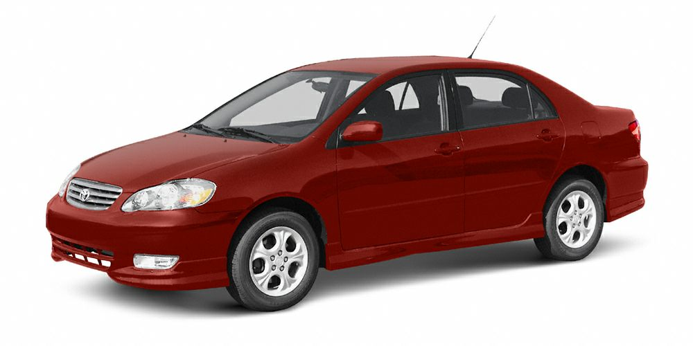 2003 Toyota Corolla CE Win a bargain on this 2003 Toyota Corolla CE before someone else takes it h