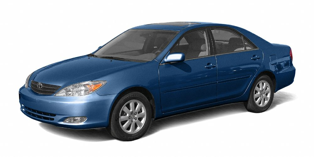 2003 Toyota Camry LE LE trim STRATOSPHERE MICA exterior and FB13 interior FUEL EFFICIENT 28 MPG