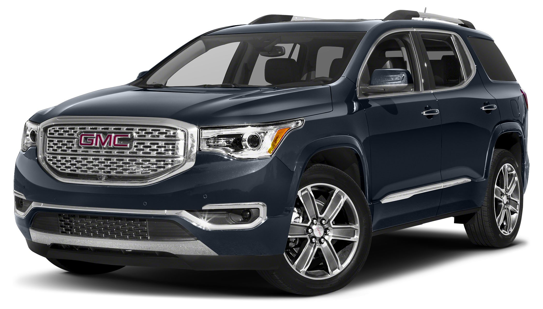 2018 GMC Acadia Denali Featuring a backup sensor rear air conditioning push button start remote