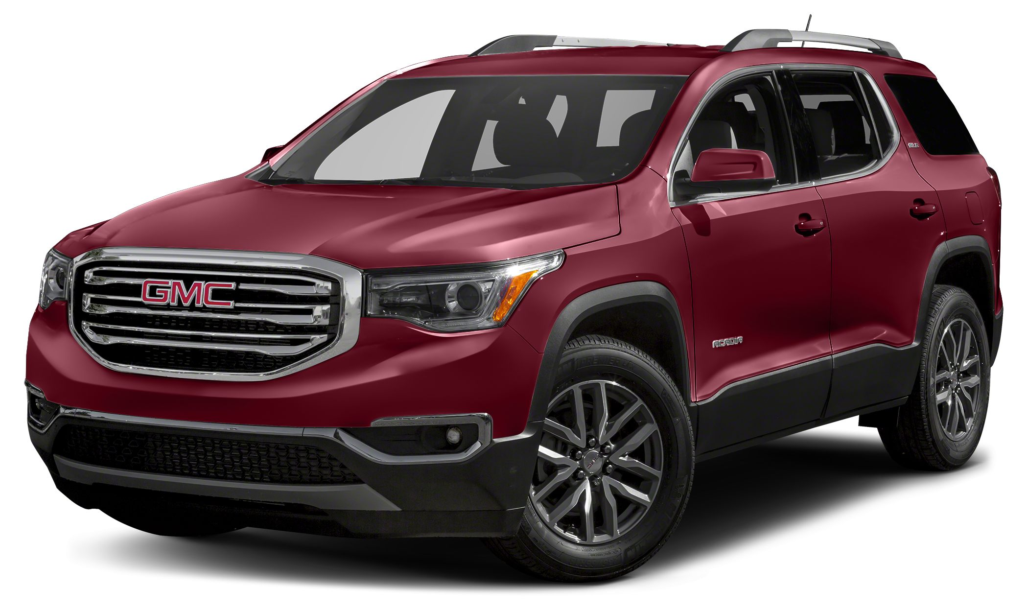 2018 GMC Acadia SLT-1 Miles 0Color Crimson Red Tintcoat Stock 106442 VIN 1GKKNMLS1JZ106442
