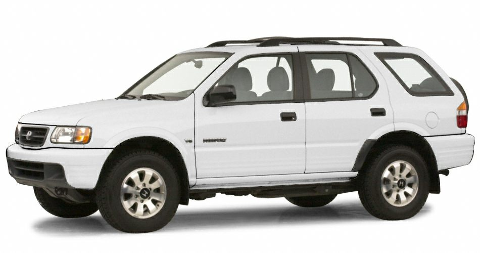 2000 Honda Passport LX Miles 204058Color White Stock 8161B VIN 4S6DM58W0Y4416357