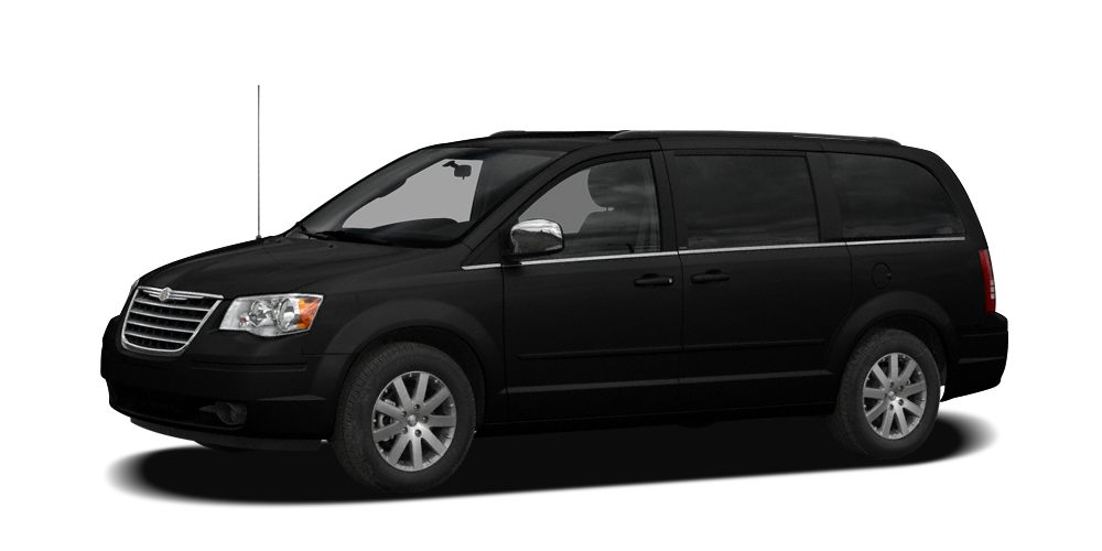 2009 Chrysler Town  Country Touring Carfax CertifiedOne OwnerNo AccidentsBeautiful Black Me
