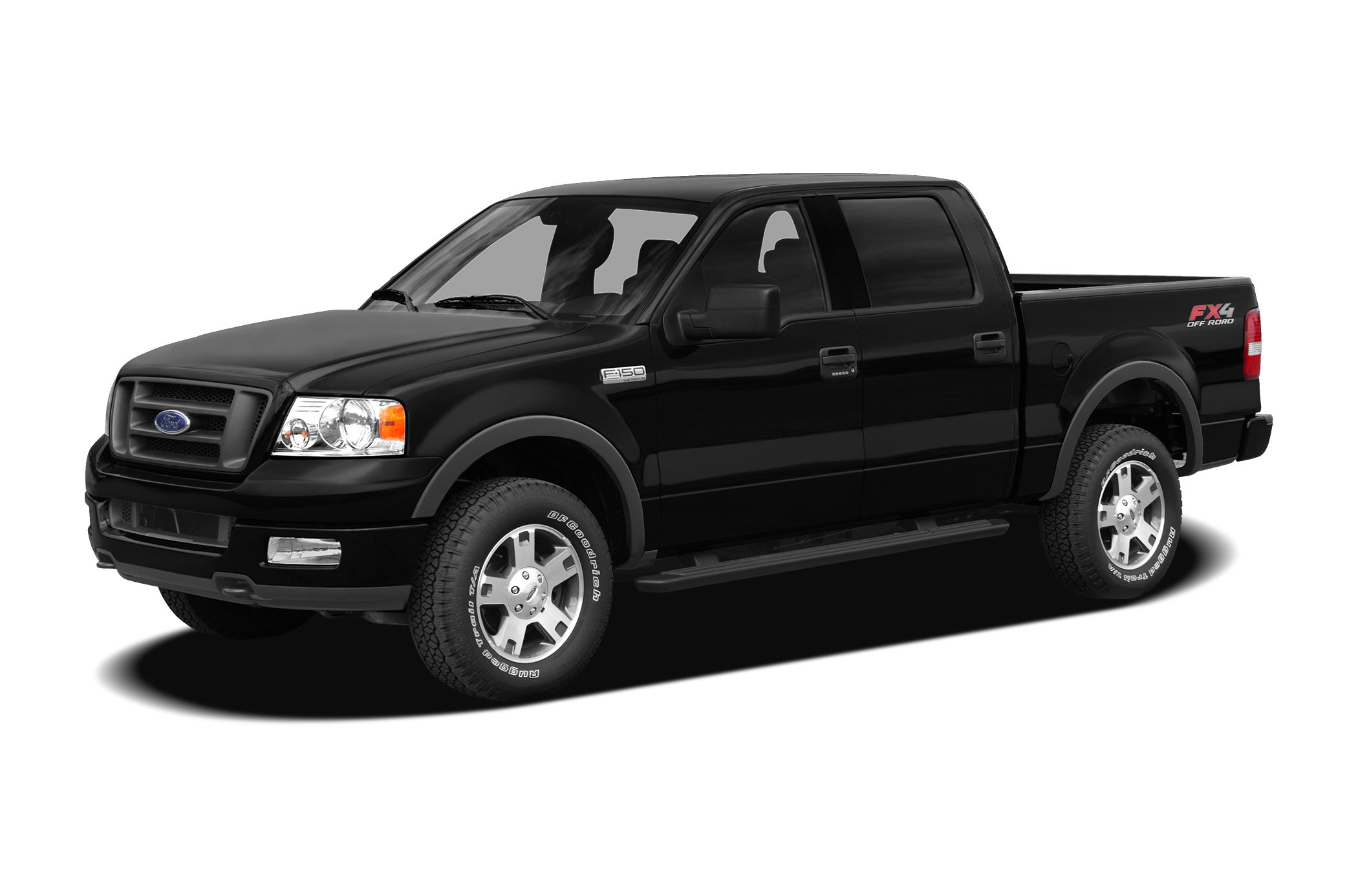 2008 Ford F-150 XLT XLT trim Consumer Guide Recommended Pickup CD Player Fourth Passenger Door