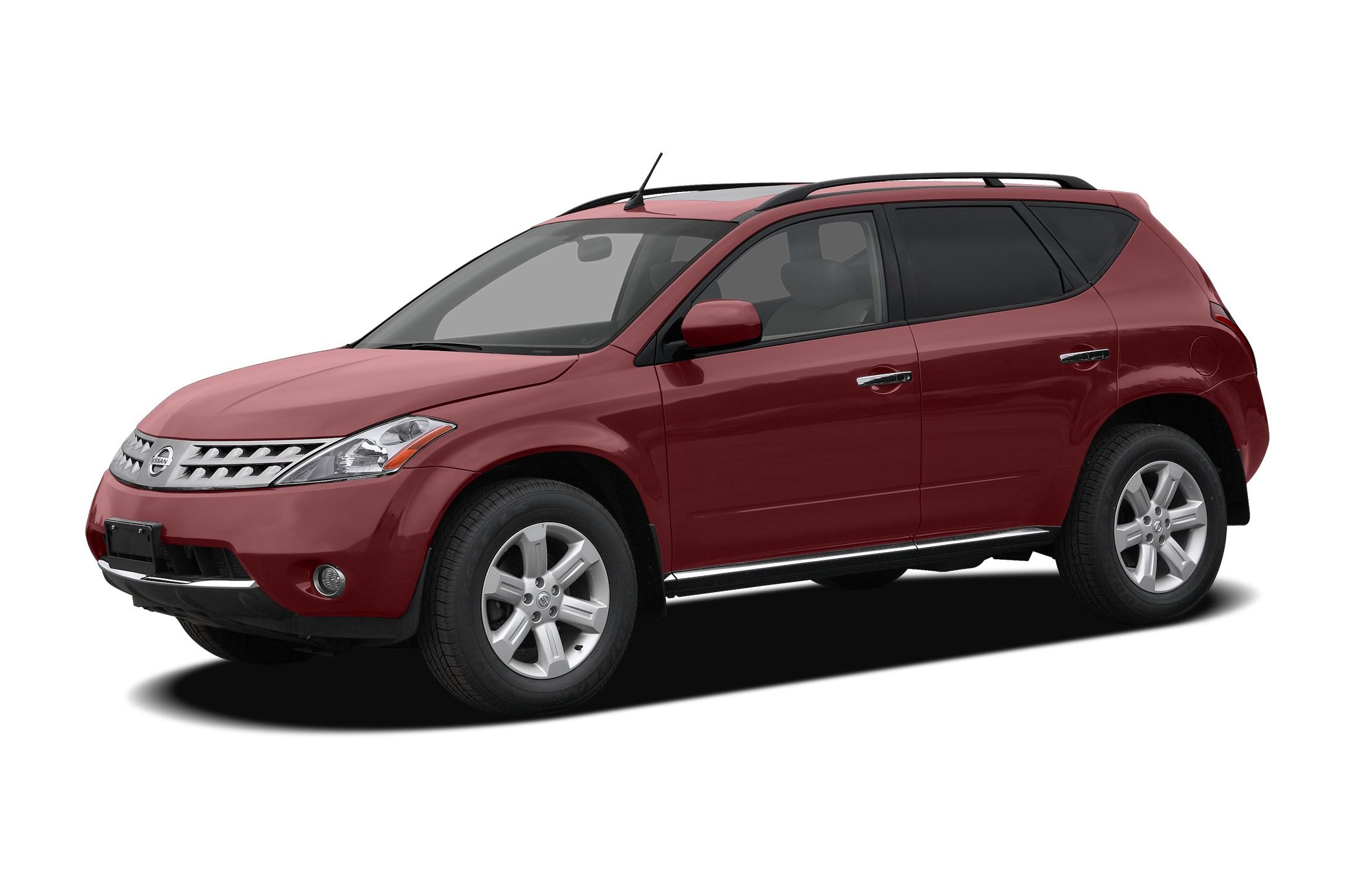 2007 Nissan Murano  Miles 126045Color Red Stock P0931A VIN JN8AZ08W27W643920
