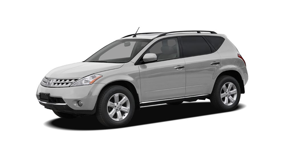 2007 Nissan Murano SL LEATHER SUNROOF and FREE FIRST YEAR MAINTENANCE Automatic 4-Wheel