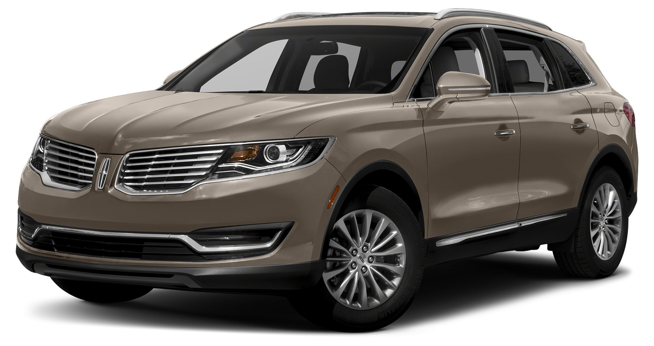 2016 Lincoln MKX Reserve Miles 0Color Platinum Dune Metallic Tri-Coat Stock IP-L80407 VIN 2L