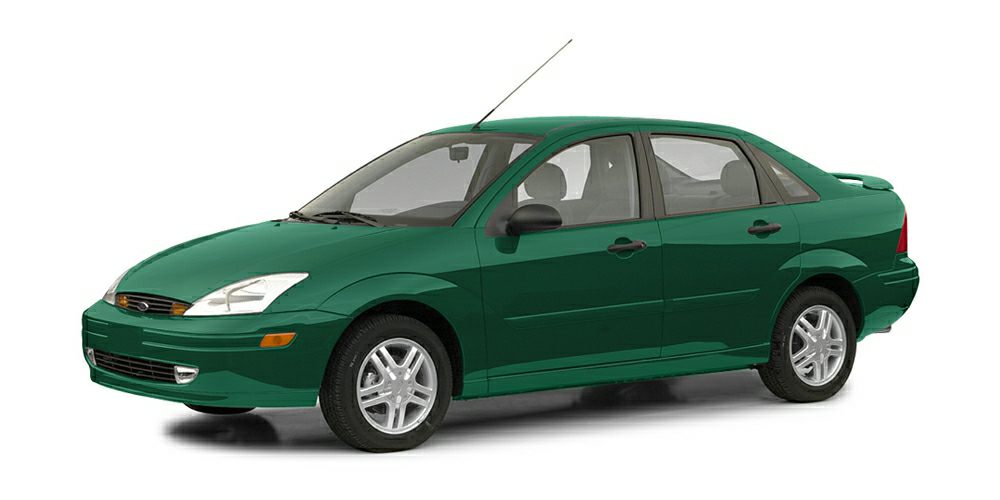 2002 Ford Focus LX Miles 80798Color Grabber Green Metallic Stock 33405A VIN 1FAFP33P72W31221