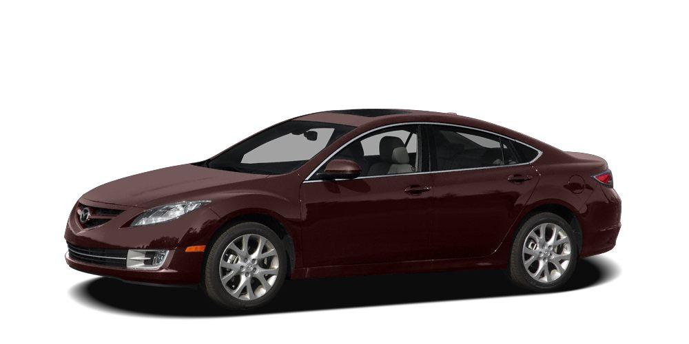 2009 Mazda MAZDA6 i Sport Miles 51109Color Black Cherry Metallic Stock P5620A VIN 1YVHP81A39
