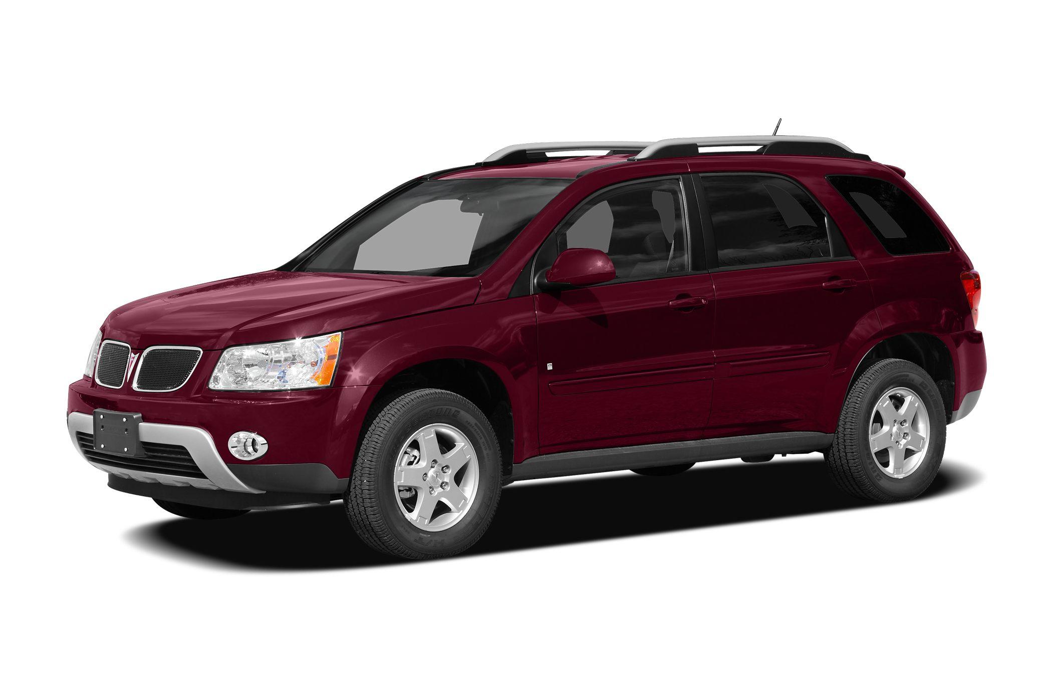 2009 Pontiac Torrent Base Miles 43326Color Maroon Stock CN6032A VIN 2CKDL43F896220192