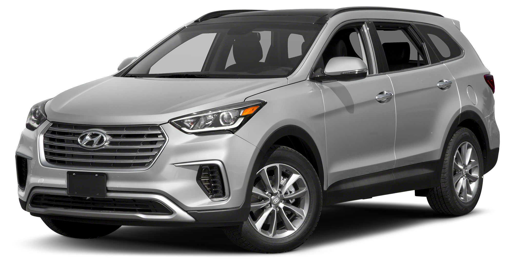 2017 Hyundai Santa Fe SE Recent Arrival gray Cloth WARRANTY FOREVER included at NO EXTRA COS