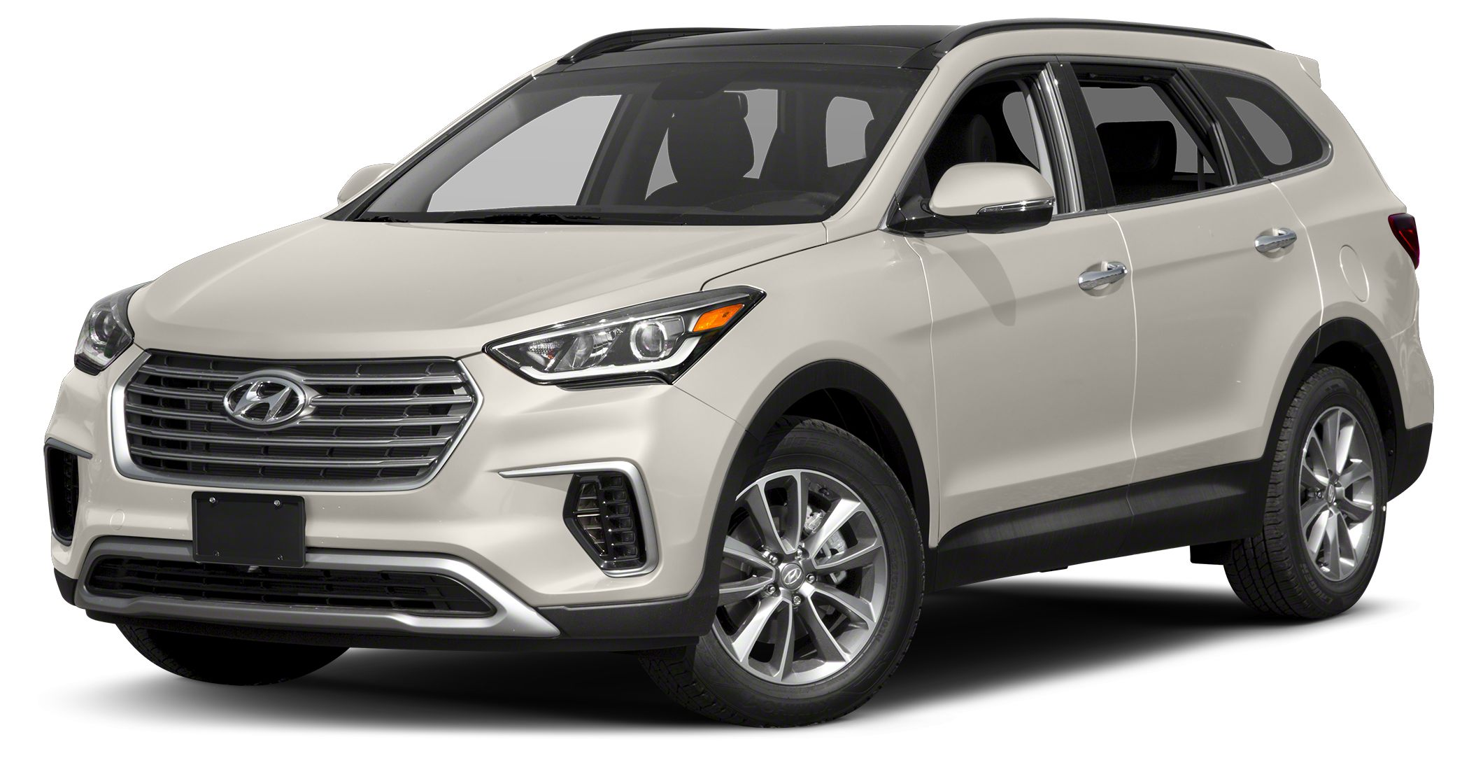 2017 Hyundai Santa Fe SE -CARFAX 1-Owner -3rd Row Seating ABS Brakes -Front Wheel Drive New Arriva