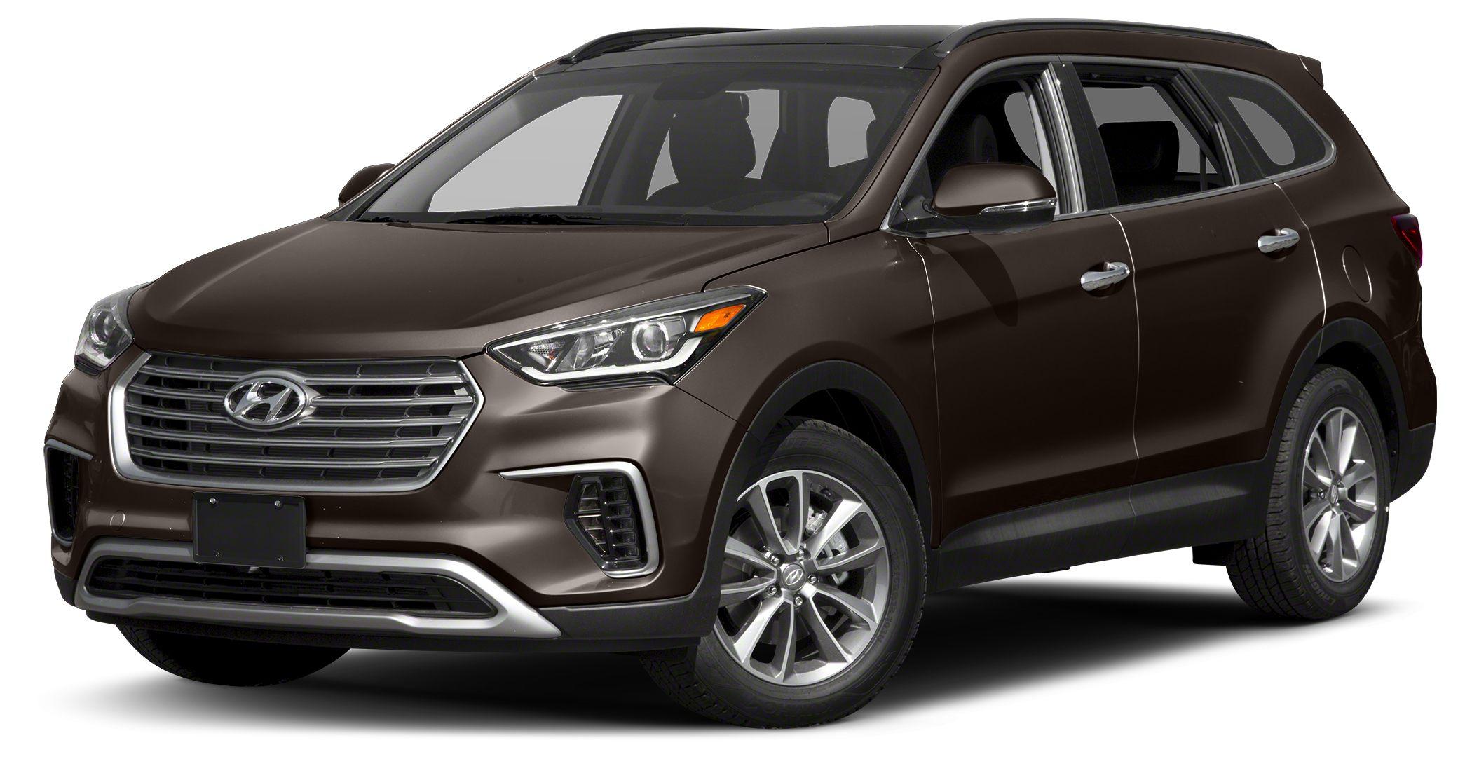 2017 Hyundai Santa Fe SE Miles 40429Color Java Espresso Stock U2423 VIN KM8SMDHF1HU181221