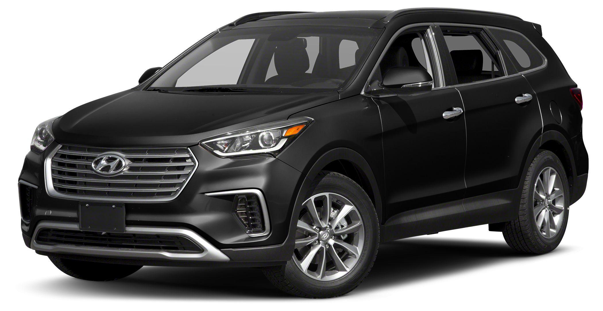2017 Hyundai Santa Fe SE Miles 32470Color Becketts Black Stock M7316 VIN KM8SM4HFXHU181735