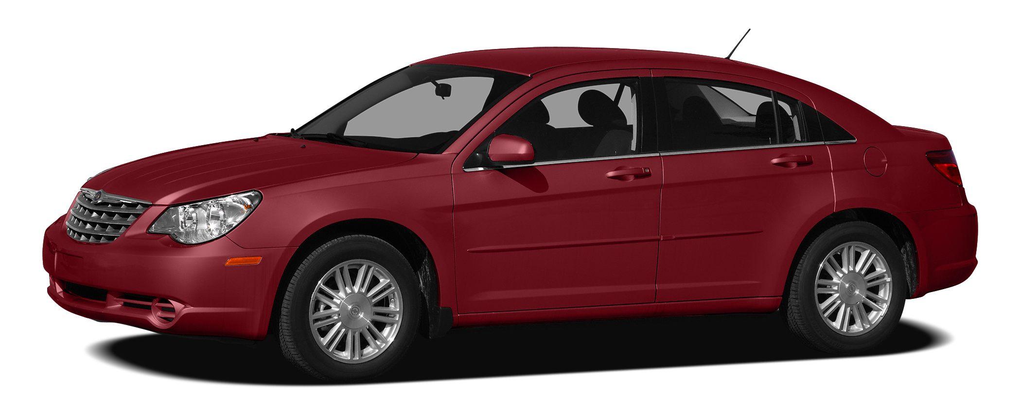 2010 Chrysler Sebring Touring Touring trim 12000 MIle Warranty LOW MILES - 33833 FUEL EFFICIE