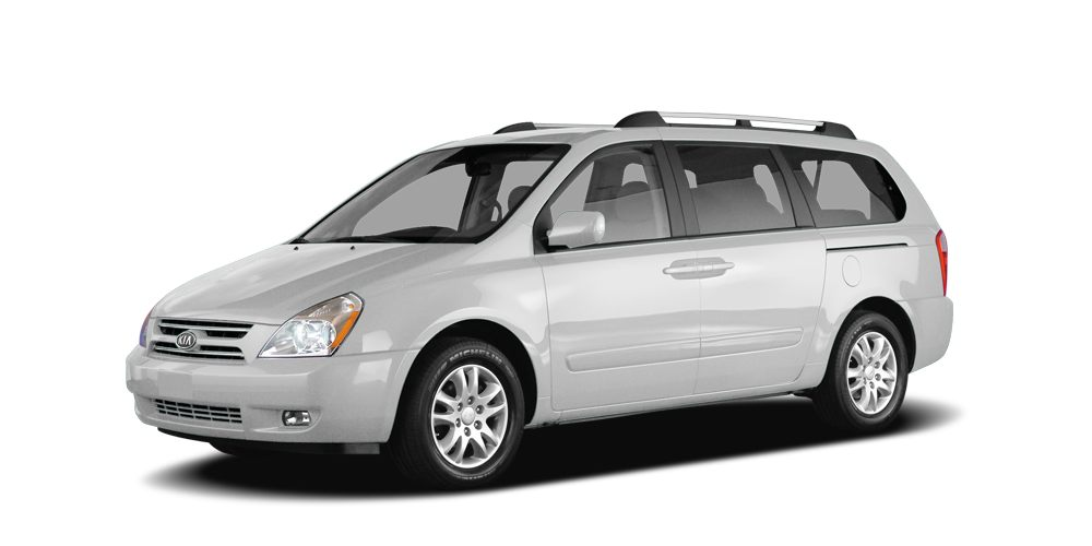 2006 Kia Sedona  This vehicle has passed a rigorous Multi-Point Inspection  oil  filter changed