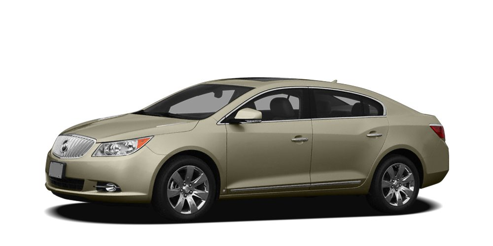 2011 Buick LaCrosse CXL Meticulously inspected -- Worry-free -- Quality assured All of this comes