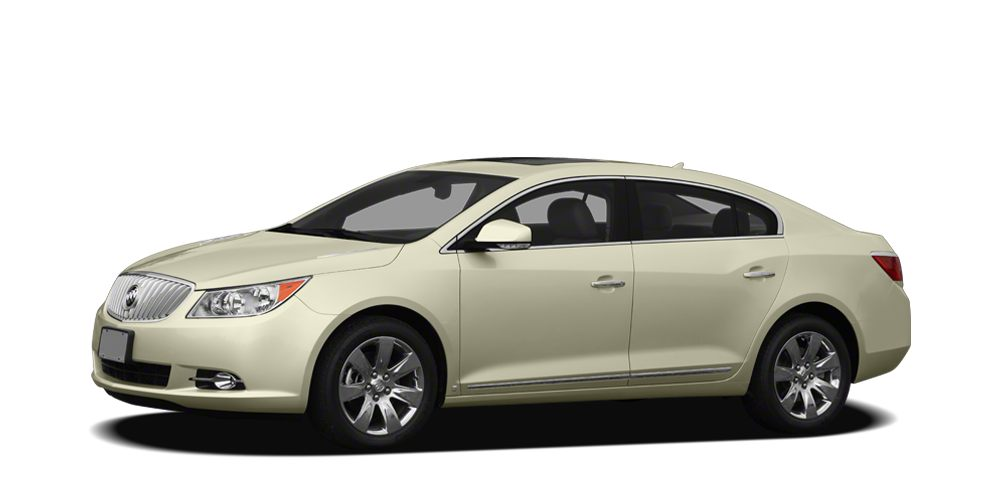 2011 Buick LaCrosse CXL Comfort  Convenience Package 2 Memory Settings Outside Heated Power-Ad
