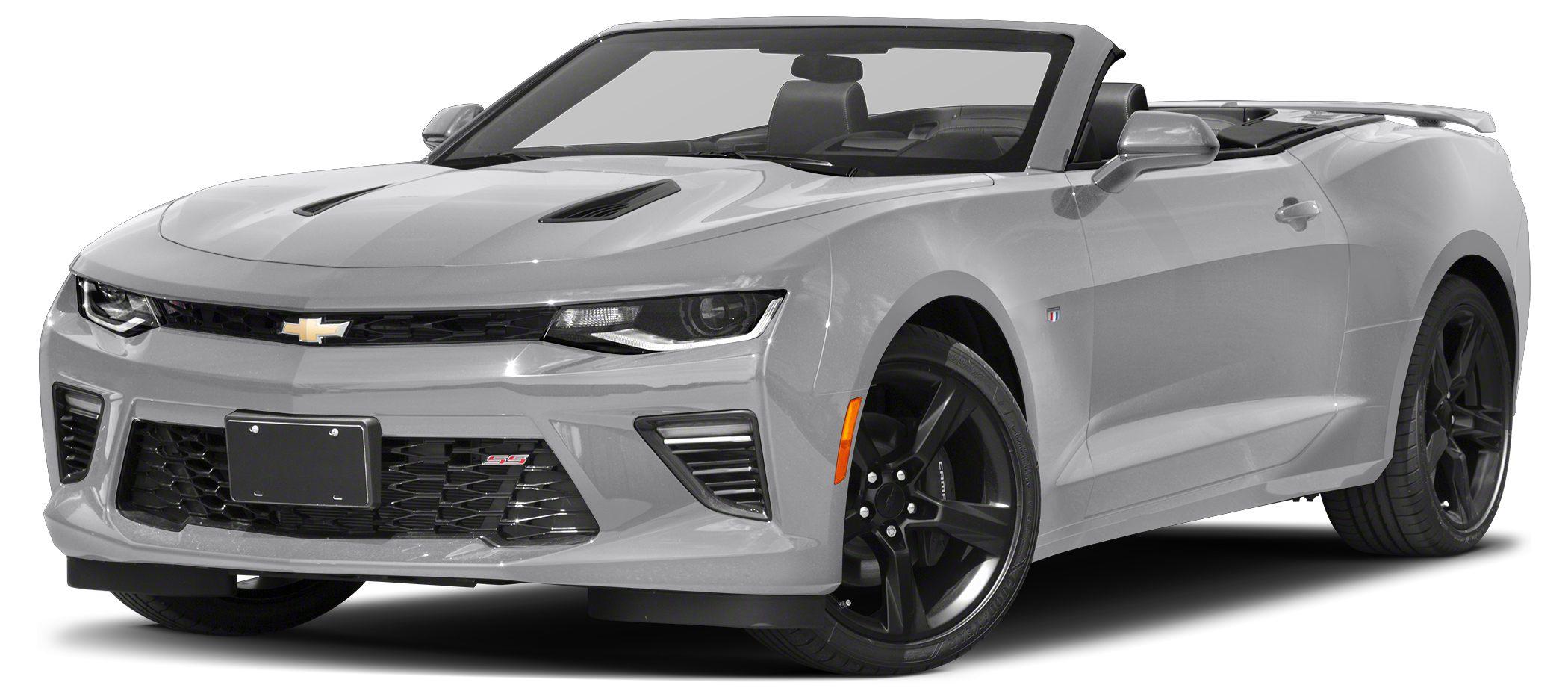 2018 Chevrolet Camaro SS w2SS HeatedCooled Leather Seats Nav System ENGINE 62L 376 CI V8 D