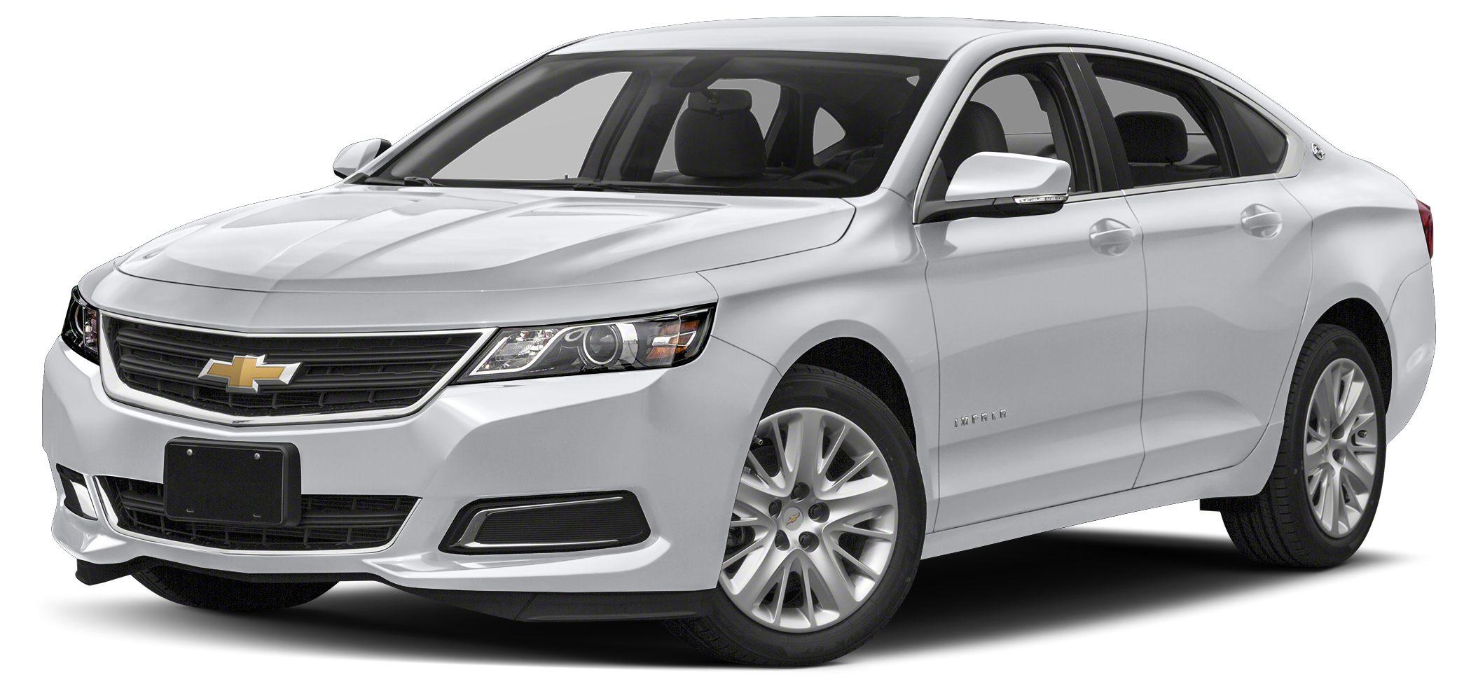 2018 Chevrolet Impala LS w1LS Price includes 1000 - General Motors Consumer Cash Program C