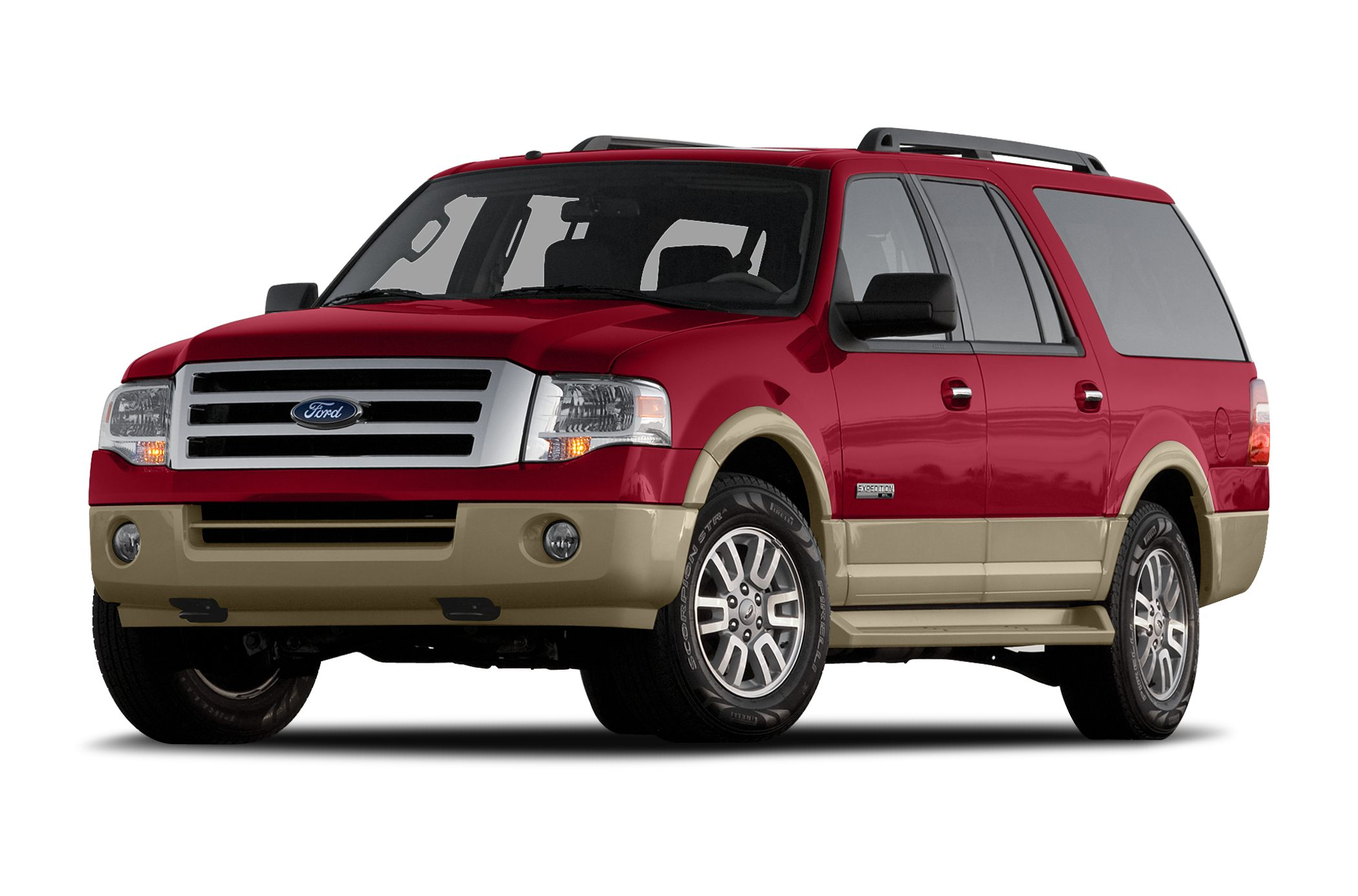 2007 Ford Expedition EL Eddie Bauer Miles 133267Color Maroon Stock 1826 VIN 1FMFK17537LA1530