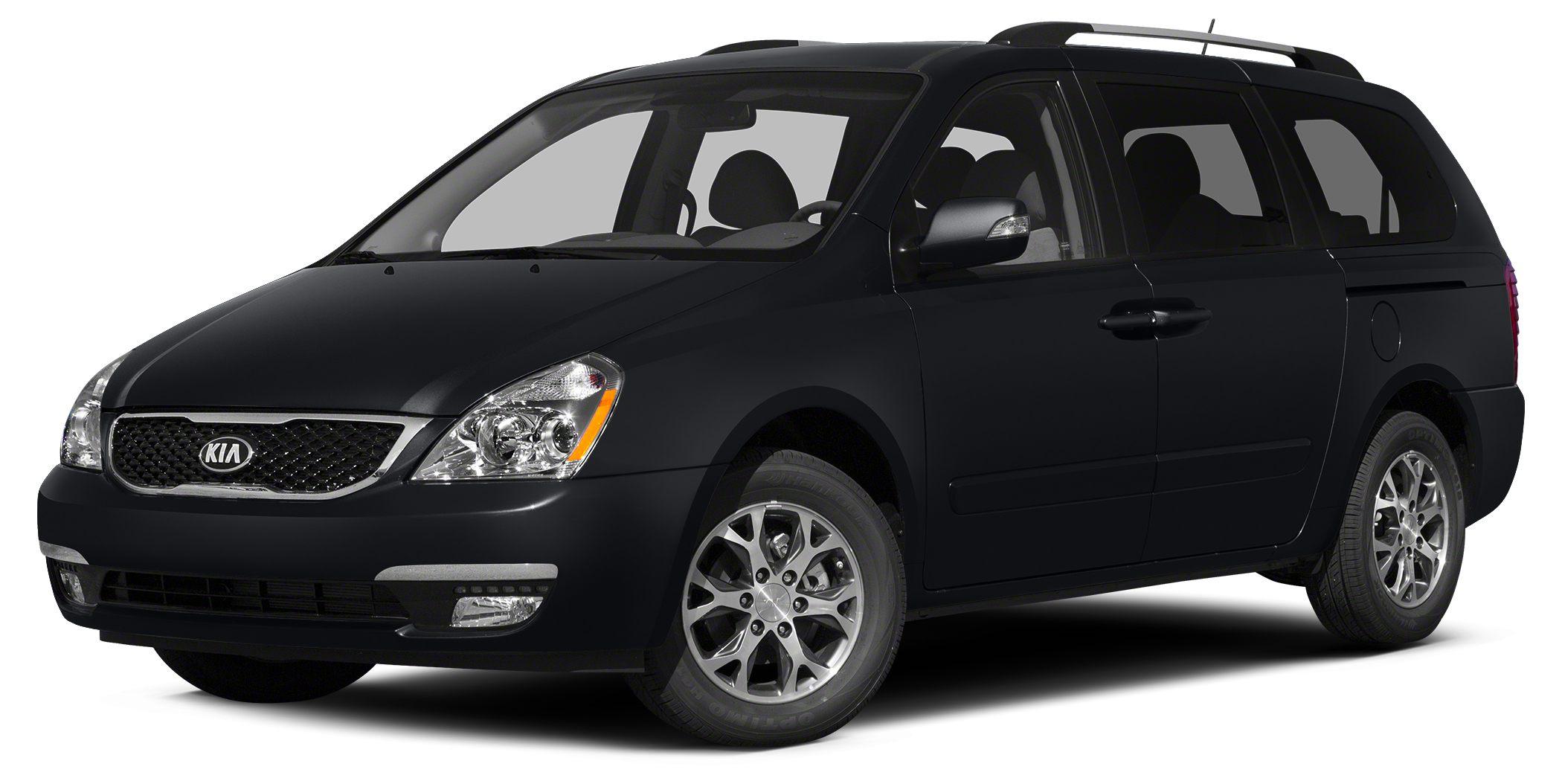 2014 Kia Sedona LX Miles 36373Color Black Stock K17114A VIN KNDMG4C77E6538793