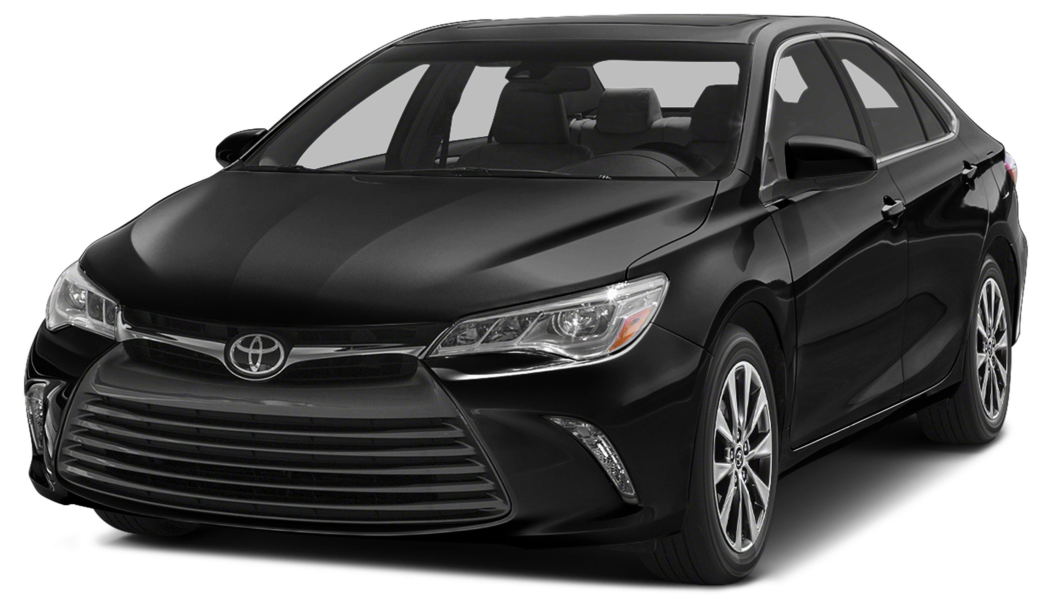 2015 Toyota Camry LE CARFAX 1-Owner FUEL EFFICIENT 35 MPG Hwy25 MPG City ATTITUDE BLACK exterio