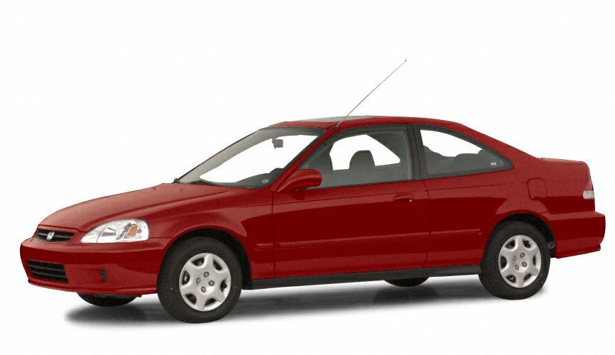 2000 Honda Civic EX Miles 185008Stock K16469A VIN 1HGEJ8248YL091371
