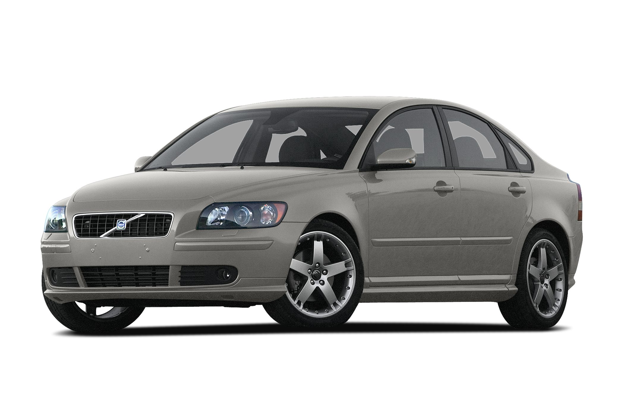 2007 Volvo S40 24i S40 24i and Off-Black wLeather Seating Surfaces Volvo FEVER At David Stanl