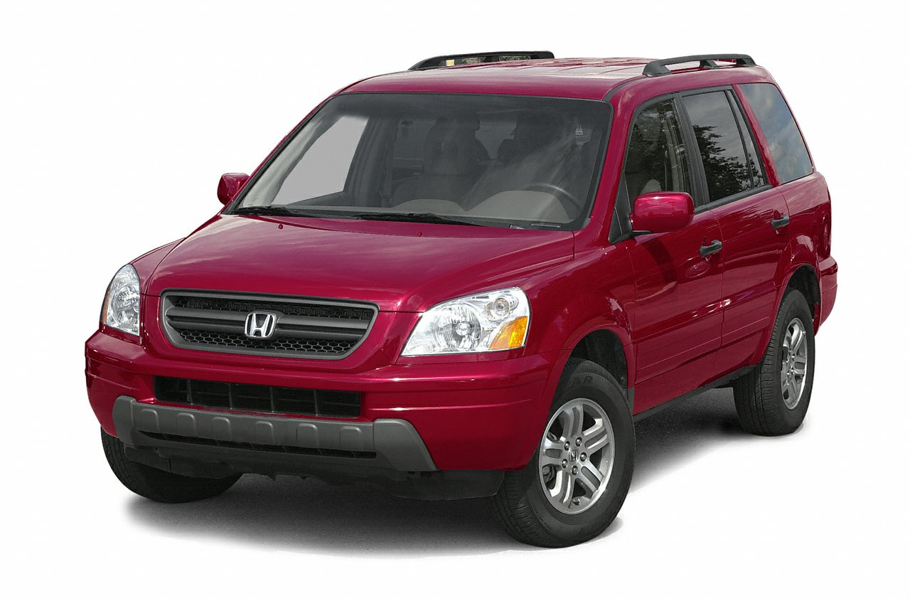 2003 Honda Pilot EX-L Land a steal on this 2003 Honda Pilot EX while we have it Spacious but easy
