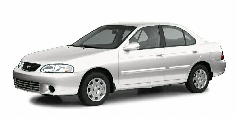 2003 Nissan Sentra GXE Miles 163874Color Cloud White Stock T9592 VIN 3N1CB51D23L696683
