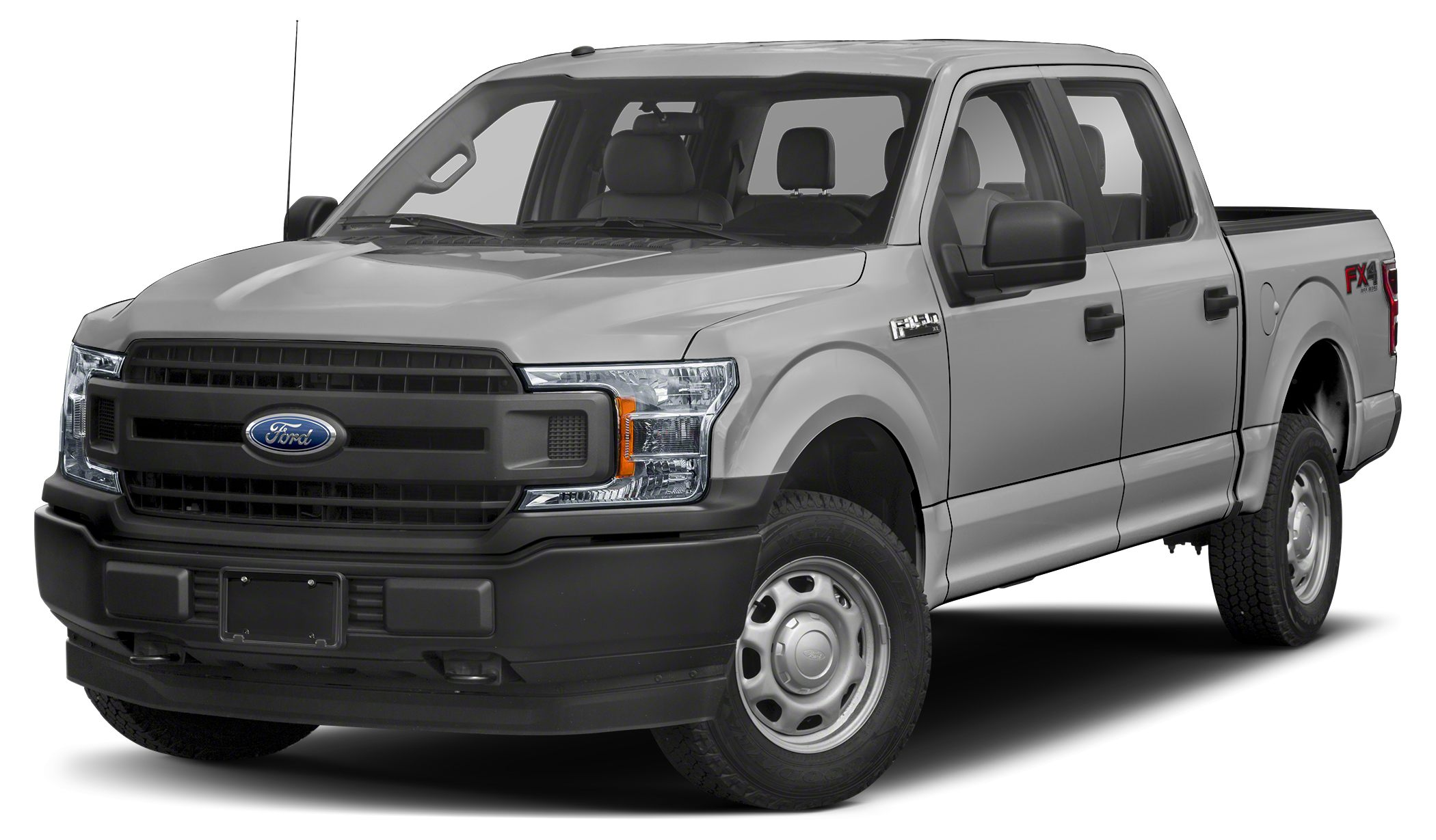 2018 Ford F-150 XL Ingot Silver 2018 Ford F-150 XL 4WD 10-Speed V6 4WD Miles 25Color Ingot Sil