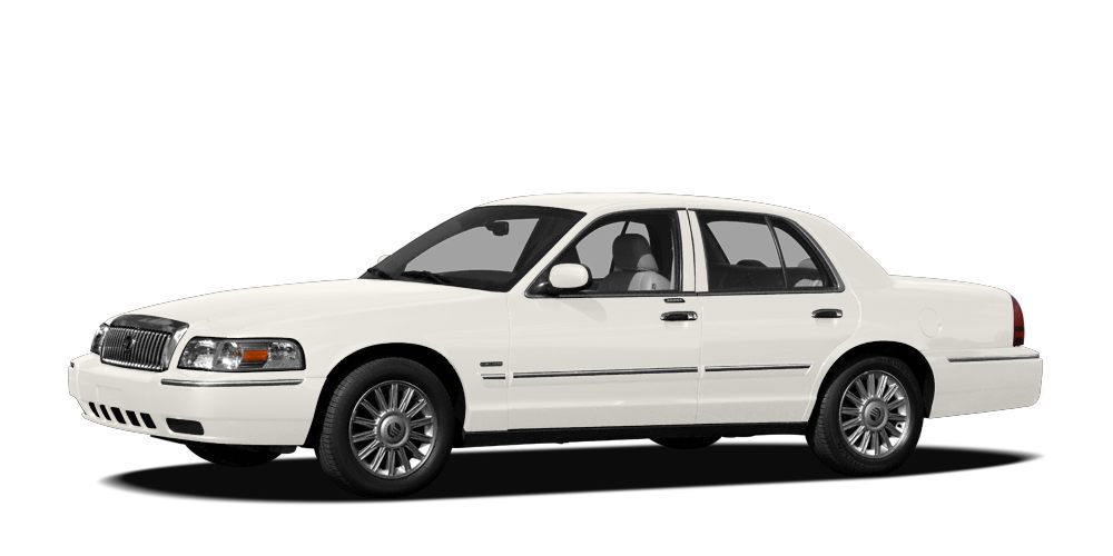 2007 Mercury Grand Marquis LS Miles 51420Color Vibrant White Clearcoat Stock 161357A VIN 2ME