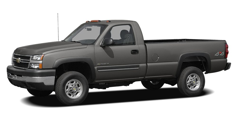 2007 Chevrolet Silverado 2500HD WT UTILITY BODY WITH AN 8 FOOT PLOW Miles 37400Color Graystone