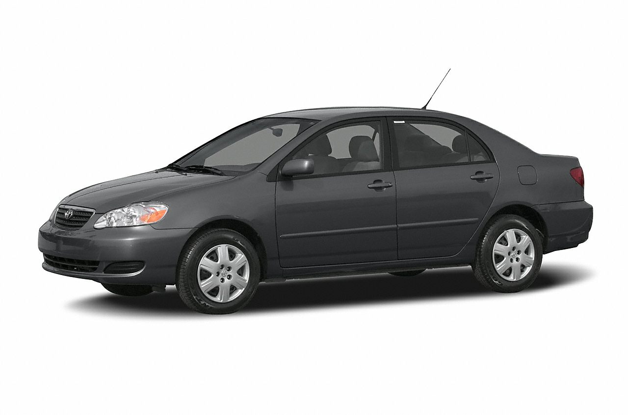 2007 Toyota Corolla CE CE trim SILVER STREAK MICA exterior and DARK CHARCOAL interior FUEL EFFIC