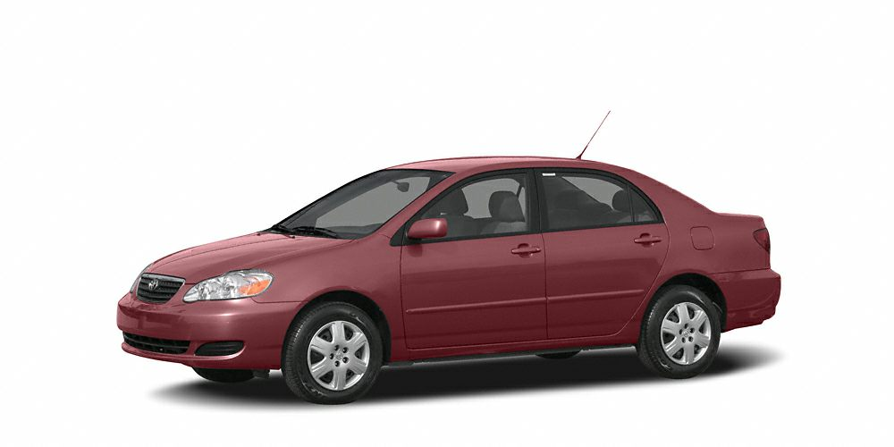2007 Toyota Corolla LE LE trim FUEL EFFICIENT 38 MPG Hwy30 MPG City CD Player The trunk is one