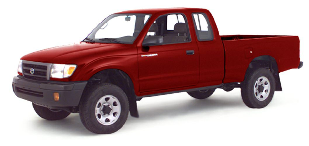 2000 Toyota Tacoma PreRunner Miles 170551Color Sunfire Red Pearl Stock FG1960U VIN 5TENM92N7