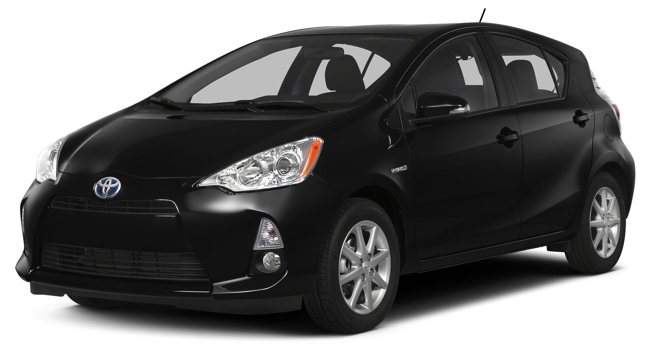 2014 Toyota Prius c Two Two trim EPA 46 MPG Hwy53 MPG City GREAT MILES 12468 Bluetooth CD Pl