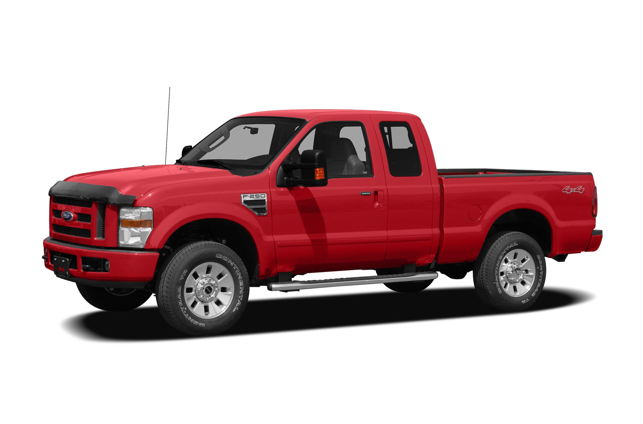 2008 Ford F-250 XLT Power Stroke 64L V8 DI 32V OHV Twin Turbo Diesel Red and Ready Stick shift