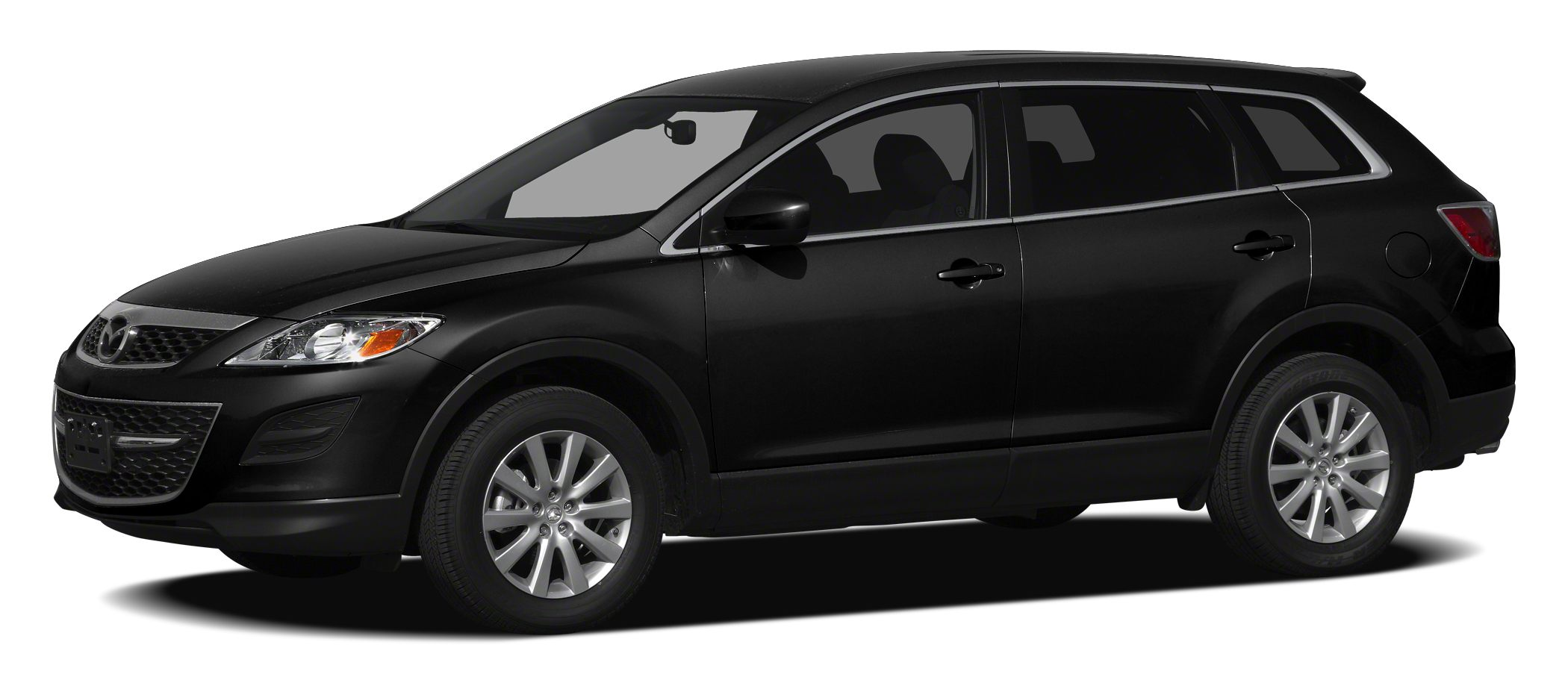 2012 Mazda CX-9 Grand Touring Miles 77165Color Brilliant Black Clearcoat Stock H9661A VIN JM