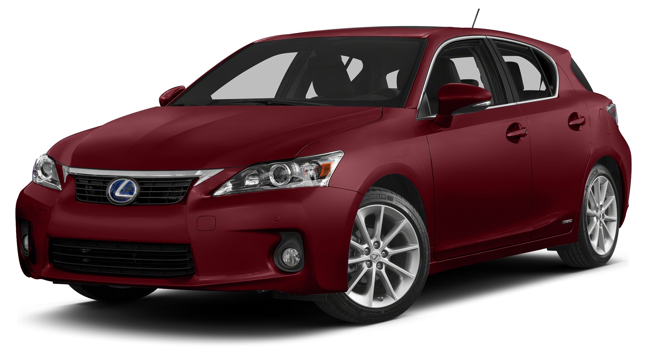 2013 Lexus CT 200h Base Clean CARFAX Matador Red Mica 2013 Lexus CT 200h FWD Continuously Variabl