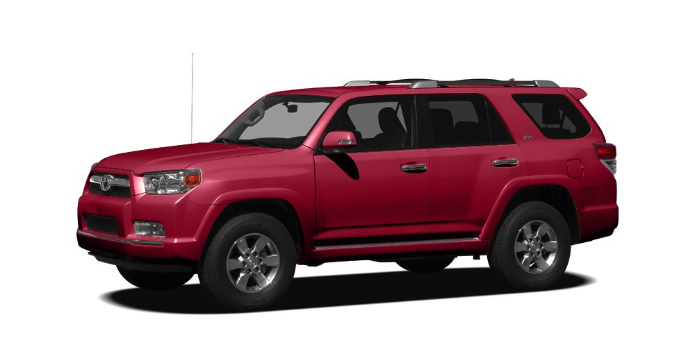 2011 Toyota 4Runner SR5 CARFAX 1-Owner SR5 trim 12000 Mile Warranty Rear Air iPodMP3 Input C
