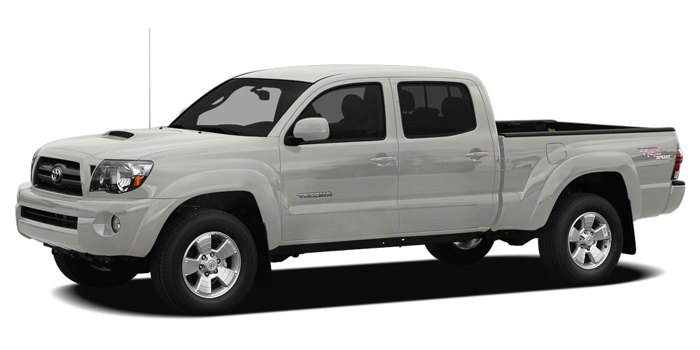 2010 Toyota Tacoma Base EPA 20 MPG Hwy16 MPG City 4400 below Kelley Blue Book SILVER STREAK