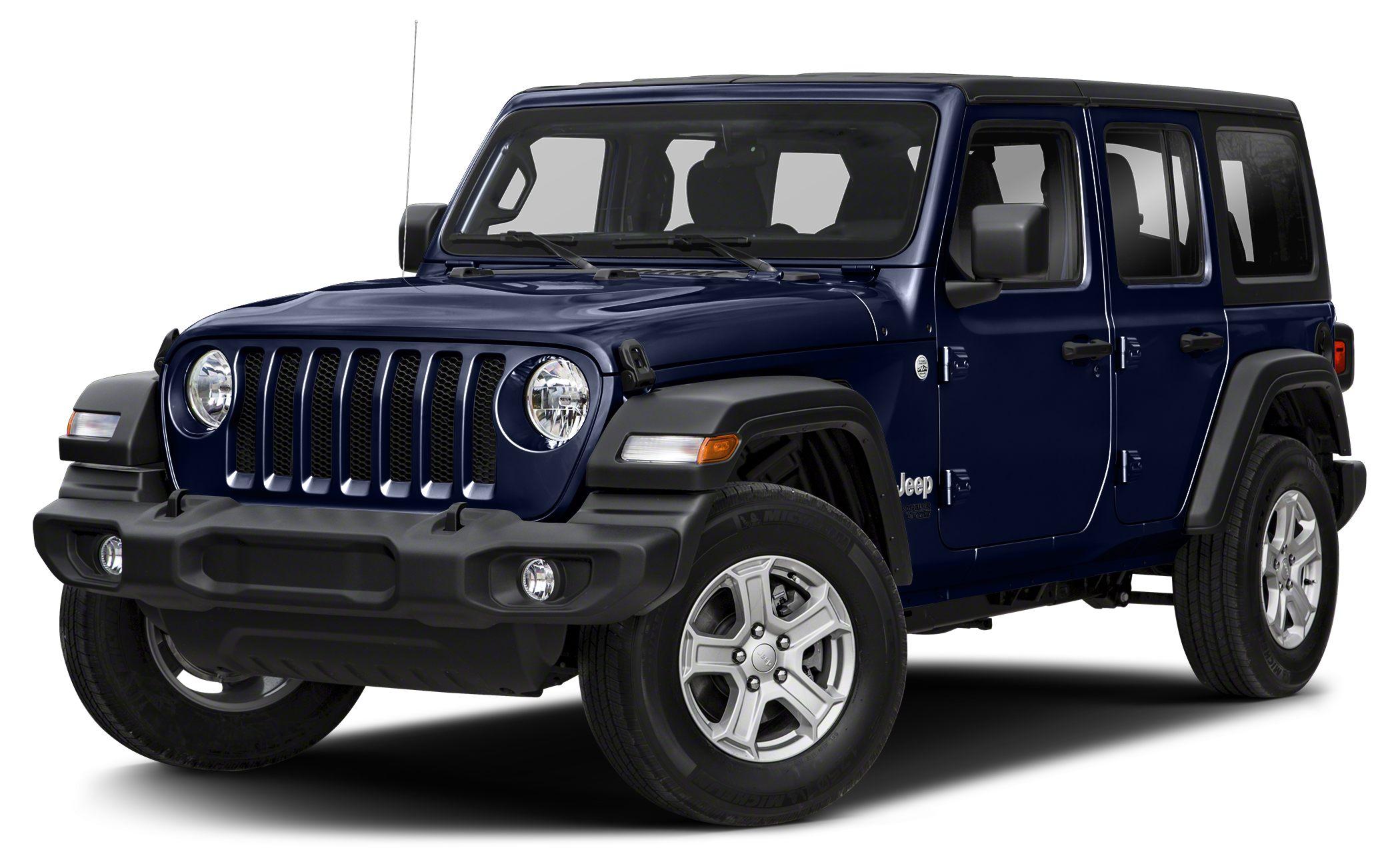 2018 Jeep Wrangler Unlimited Sport Recent Arrival 2018 Jeep Wrangler Unlimited Sport Ocean Blue M