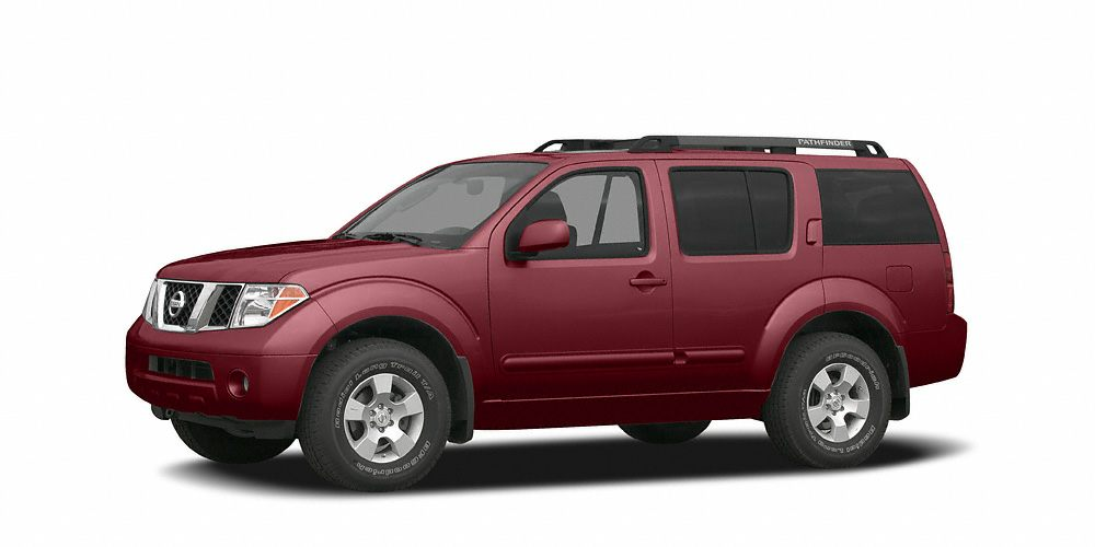 2007 Nissan Pathfinder S Grab a steal on this 2007 Nissan Pathfinder S while we have it Comfortab