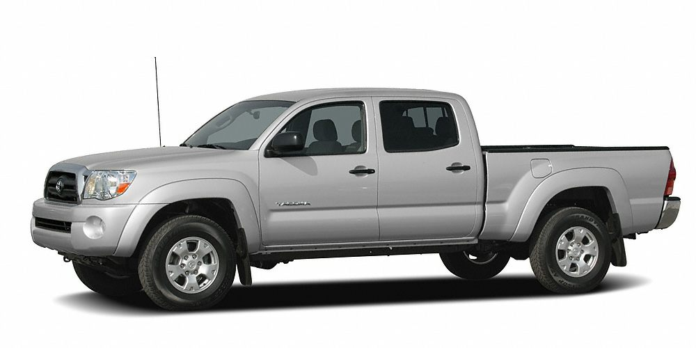 2007 Toyota Tacoma Base Win a steal on this 2007 Toyota Tacoma DBL CAB 4WD AT before someone else