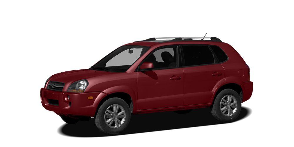 2009 Hyundai Tucson GLS Miles 75512Color Mesa Red Pearl Stock HP2489A VIN KM8JM12B89U034766