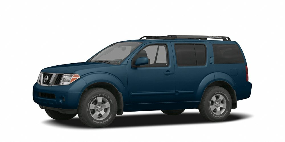 2005 Nissan Pathfinder SE Off-Road Miles 127808Color Silverton Blue Pearl Stock 5C710004 VIN