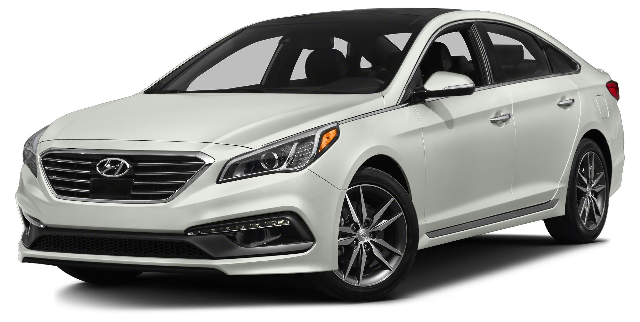 2015 Hyundai Sonata Sport 20T 2015 Hyundai Sonata Sport 20T in White and One Year Free Maintanen